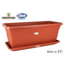 wholesale Household & Kitchen: wide garden with plate 100x45cm gree