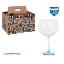 gin tonic 65cl voet blauwe grafitti cup