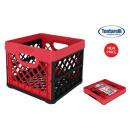 összecsukható doboz 25l négyzet piros / ne