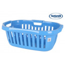 cesta ropa ergonomica 50l hipster azul