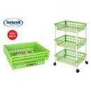 cart greengrocer 3 baskets 40x62 myth 3 green