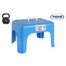 wholesale Small Furniture: stool with handle 38x30x24cm dumbo blue