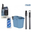 wholesale Cleaning: cube 16l + deposit 6l + drain + stick + mop