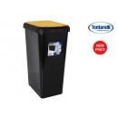 recyclage poubelle peut double ouverture 45l cap a