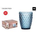 ingrosso Casalinghi & Cucina:vetro sidari blu 270ccm