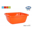 square bowl 10l 34cm colors