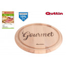 wholesale Household & Kitchen: wood plate 20cm gourmet quittin