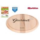 Teller Holz 24cm Gourmet Quittin