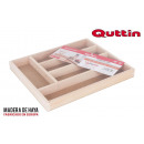 wholesale Other: wooden cutlery organizer 33x28x3,5cm wooden