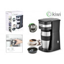 coffee maker with take away cup 420ccm 650700w