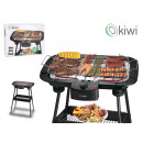 elect grill with legs 2000w38x22cm