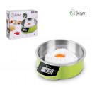 bascula cocina digital 5kg bol inox