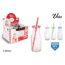 bottle with cap and straw 320cc