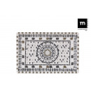 fontaine rectangulaire 30x20cm baroque elite shine
