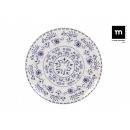 wholesale Crockery: plain plate 26cm blur monaco shine