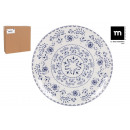 wholesale Crockery: low plate 32.5cm blur monaco shine