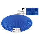 Set de table pvc rond bleu 38cm