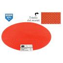 groothandel Tafellinnen: oranje ronde pvc placemat 38cm