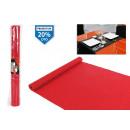wholesale Table Linen: red pvc table path 45x150cm