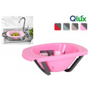 wholesale Kitchen Utensils: qlux extendable plastic drainer