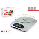 bascula cocina digital 5kg basic home