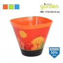 wholesale Plants & Pots: flowerpot iml conica 15x15x13cm with