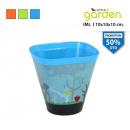pot de fleurs iml conica 10x10x10cm avec