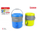 wholesale Heating & Sanitary: thermos water with tap 3 liters privilege