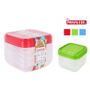 wholesale Household & Kitchen: set of 4 lunchboxes 350ml privilege
