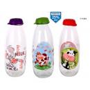 milk bottle decorated 1lt