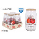 glass jar 1000ccm dec tomato