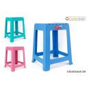 wholesale Home & Living: stool plastic 36.5x34x45cm confortime