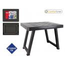 groothandel Sport & Vrije Tijd: 51x40x40 wenge geplastificeerde tafel confortime