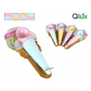 20cm plastic ice cream spoon qlux