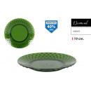 plato llano 19cm ps green diamond