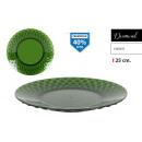 plato llano 25cm ps green diamond
