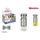 360ml quttin stainless steel oil can