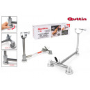 quttin stainless suction ham holder