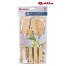 grossiste Outils de jardin: lot de 4 pelles en bambou 30cm