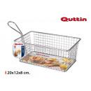wholesale Household & Kitchen: rectangular gourmet basket 20x12x8cm quttin