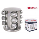 set of 12 stainless steel support stand quttin