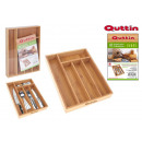 wholesale Other: organizer cutlery bamboo 34x26x5 quttin