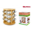 set of 12 supporters stand bamboo quttin