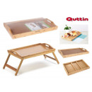 wholesale Sports & Leisure: foldable bamboo table 50x30cm quttin