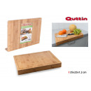 cutting board bamboo edge 35x25x1.2 quttin