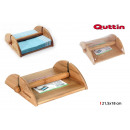 wholesale Other: napkin holder bamboo 21.5x18cm quttin
