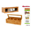 wholesale Food & Beverage: organizer infusions bamboo 30x9cm quttin