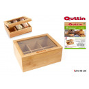 wholesale Food & Beverage: organizer infusions bamboo 21x16 quttin