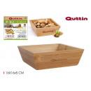 wholesale Crockery: bamboo bowl 16x16x5cm quttin