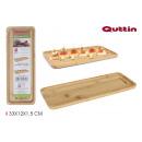 bamboo tray 33x12x1.5cm quttin